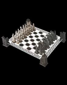 Vampire vs. Werewolf Chess Set