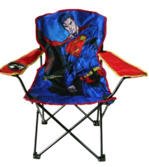 Heroes And Villains Superman Folding Camping Chair