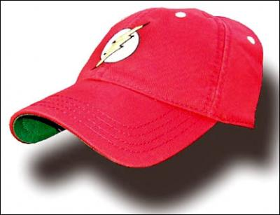 f6ee179b5c8 Heroes and Villains - The Flash Leather Strap Baseball Cap - Vampire ...