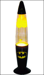 Heroes and Villains - Batman New Lava Lamp - Vampire Rave.