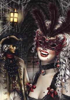 Vampires Puzzle by Victoria Frances
