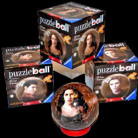 Twilight New Moon Set of 3 Puzzle Balls