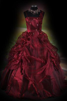 The Vampire Database Red Black Gothic Wedding Dress Vampire Rave