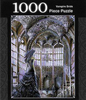 Vampire Bride 1000 Piece Jigsaw Puzzle