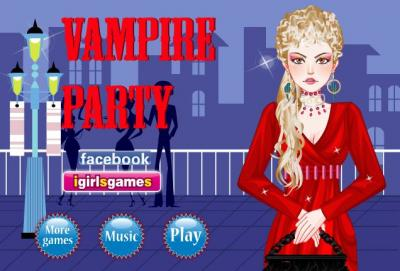 Vampire Party Dress Up