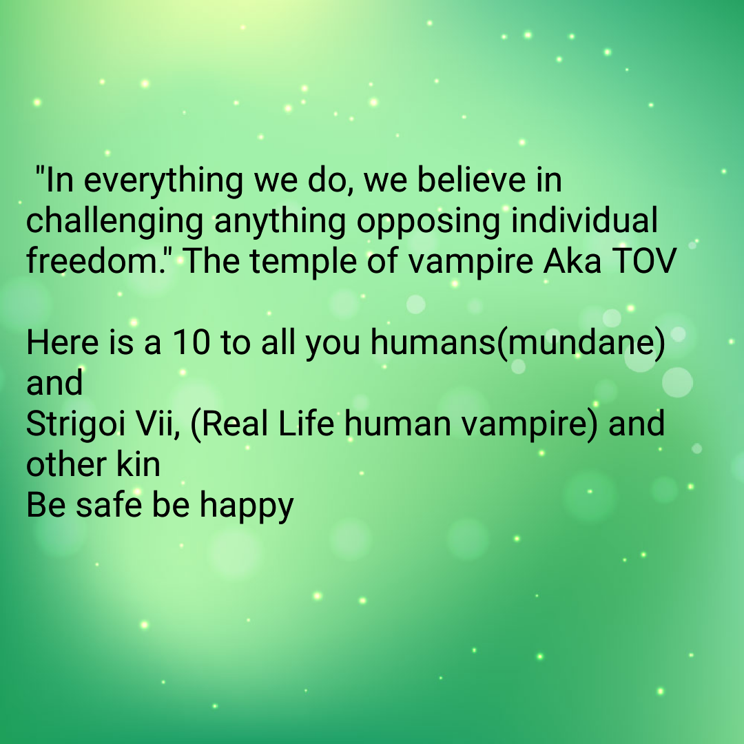 Real vampires love Vampire Rave.