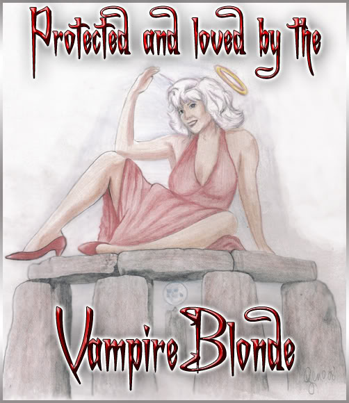 Protected by Vampire Blondee