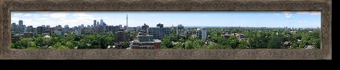 My home and Native land, Toronto Canada.   Facing south towards Lake Ontario.