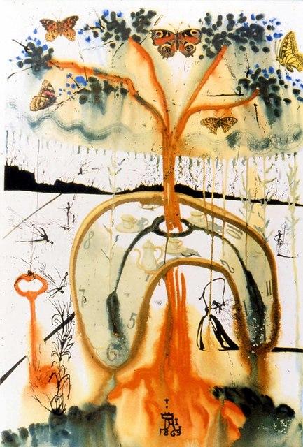 Salvador Dalí A Mad Tea Party