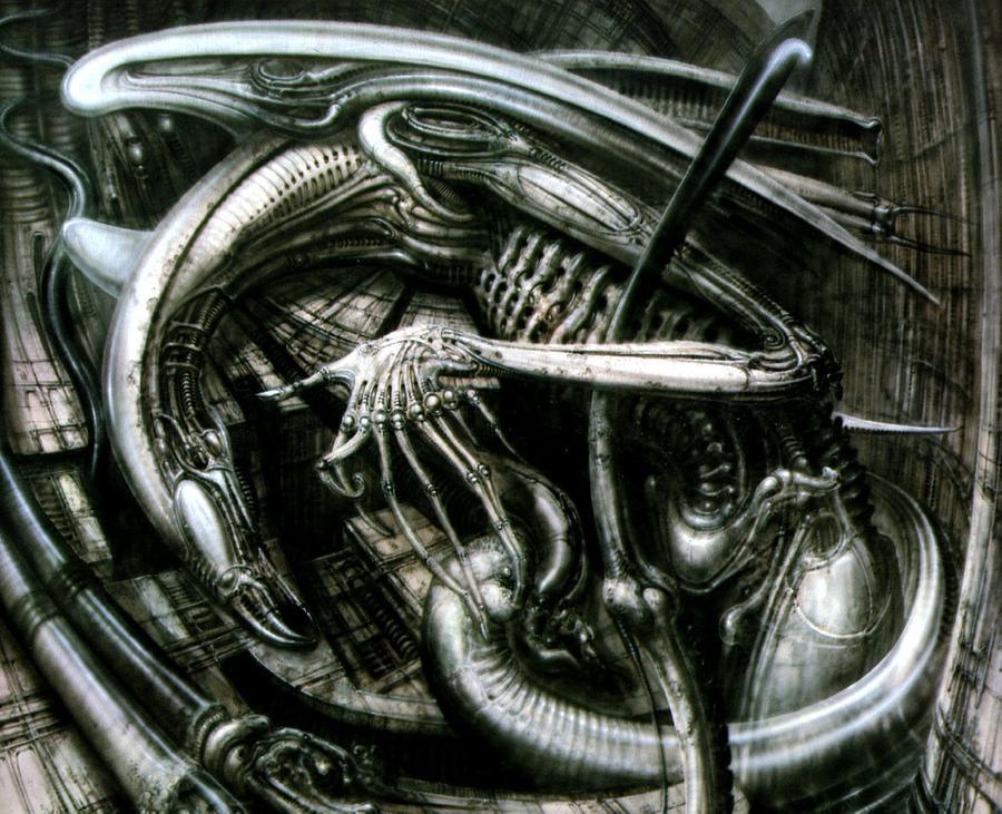 H.R. Giger Angel of Death